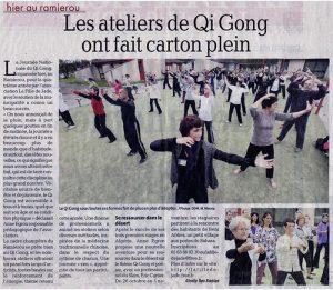 Journée Nationale du Qi Gong en juin 2013 à Montauban (82)